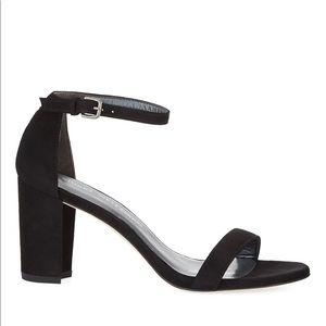 Stuart Weitzman Suede SANDALS Pump Heels Size 8